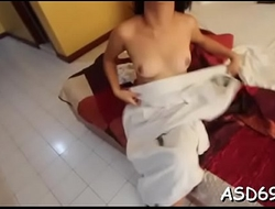 Asian oral arousal and cock lane