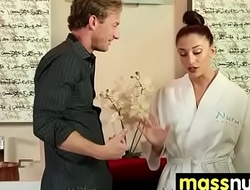 SEXY body gets a happy ending massage 28