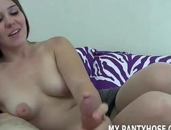 I hear you like sexy girls in soft pantyhose