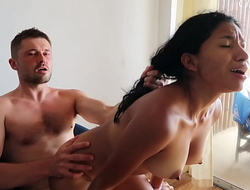 She FUCKS ME HARD on a chair and has her ORGASM Christina Rio