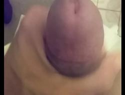 jerking off with huge cumshot