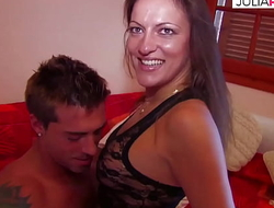 She has a lot of experience and likes pretty men and ass fuck