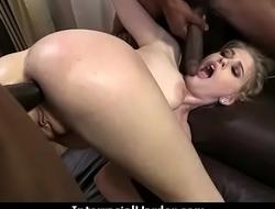 White Slutty wife is gangbanged by BBCs 26