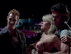 Suzee Slater - Savage Streets - 1984 - HD - Public Sex Scene