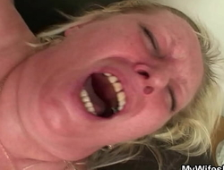 Big tits mother girlfriend seduces him into taboo sex