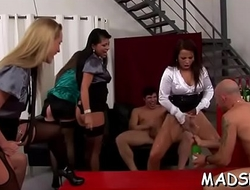 Lustful gpoup goes wild