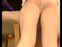Ballerina crossdresser gets sexually harassed and OTK spanked