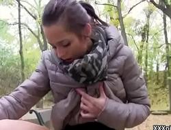 Public Sex WIth European Teen Amateur For Cash 13