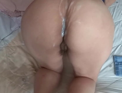 HAIRY MOTHER, EROTICA, FULL MASTURBATION, INTENSE ORGASMS AND CUMSHOT ON HER BIG ASS - ARDIENTES69