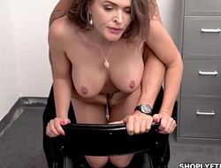 Krissy Lynns tight milf pussy getting some serious pounding