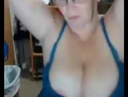mature chesty redheaded woman