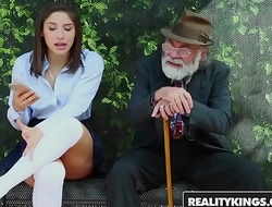 RealityKings - Boyhood Love Huge Cocks - (Abella Danger) - Bus Bench Creepin