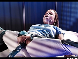 Unadulterated Life Hentai - Blonde Teen got fucked and Creampied by Aliens in Hospital