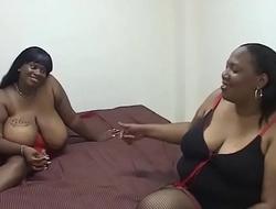 Busty Lesbian Black #1