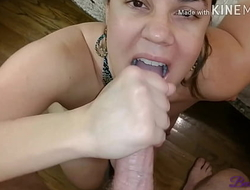Amateur wife gets fucked on in-laws bed while house-sitting