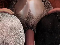 Max xxxCavaflyxxx Tony - Inviting Lizard Creampie Animation