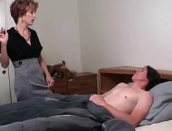 Smoking Mom and son, Gianna Phoenix-720p