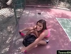 Tennis Training Gone Bad with Karter Foxx free part-01 from Teens Love Money