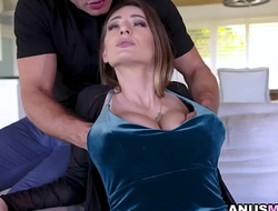 HORNY wife Natasha Starr is a hot bitch that has a huge appetite for SEX.She wants to have Dannys throbbing cock Yearn her tiny ASSHOLE