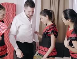 Sahily Sweet, Anastasia Brokelyn and Ba by Nicols
