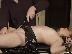 Fully Submissive Blonde Delivered Helter-skelter Orgasm While Sucking Her Masters Cock Upside Down