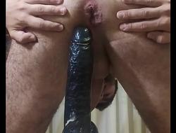 Destroy my ass with a BBC dildo
