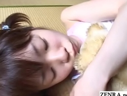 JAV teen stripped and fondled while subcontract bear Subtitled