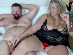 candynfarmer 8 November 2020 Chaturbate Cute, sympathetic with an increment of short-dick chubby man is controlled, handled with an increment of driven by his girlfriend's blonde, busty with an increment of bbw to ensure her own pleasure