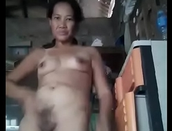 Filipina granny banana sucky sucky
