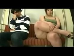 Asian BBW Rapped Train FULL vid http://zipansion.com/1niav