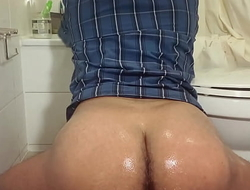 Gay latino bubble butt, vituperative skater in jeans (hairy hole)
