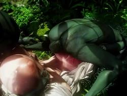 ardour monster goblins orgy domination sex female human fantasy