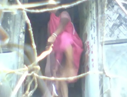 indian aunty only of two minds saree 2