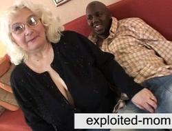 Granny likes black gravamen of shit