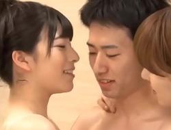 Yui hatano and ai uehara give a lucky guy sex massage