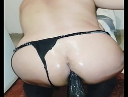 My big oiled ass in action 3