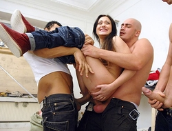 A group be incumbent on builders Hard Fucked Woman