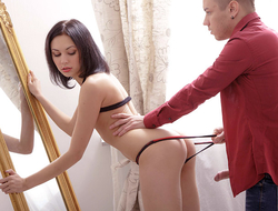 This guy thought dealings with 18 year old Vikki was going to be boring because it was her virgin sex. But he was surprised as she was hot, seductive, flirty and naughty.