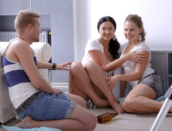 These friends are not your average young friends. They wanted to be each other's first so they had a threesome that also incorporated anal sex. And it was epic.