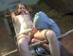 Amateur vixen with small cans gets directed up and tortured