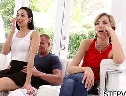 Stepdad fucks Malina Mars at fathers make obsolete