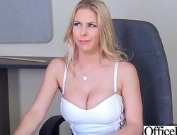 Office Sluty Girl (Rachel RoXXX) Back Beamy Back devotion to Boobs Team-fucked Hard video-27