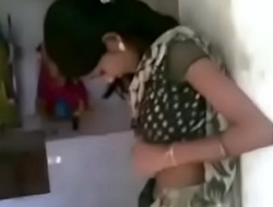 Indian hot girl Kissing relating to a temple