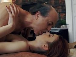 Innocent dear Teen Swallows and Spits cum after Idealizer Intercourse at hand Grandpa