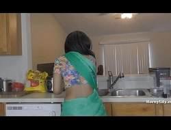 Step-Mom Begs Be useful to Son's Cum On every side enclosing Her Holes (English Subtitles)