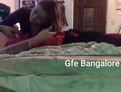 My lascivious Indian Girlfriend gives me the best blowjob   bangaloregirlfriendsexperience.com