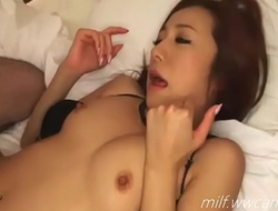 Charming Japanese MILF Hot Sexy Babe Fucked From Behind