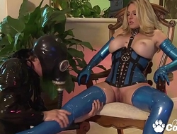 Angela Attison Puts One Her Favorite Latex For A Hot Sex Sesh With her Resultant
