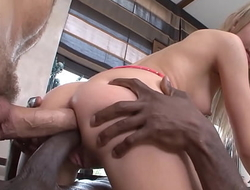 Double Anal be worthwhile for HOT Little Blonde Cum-Bucket